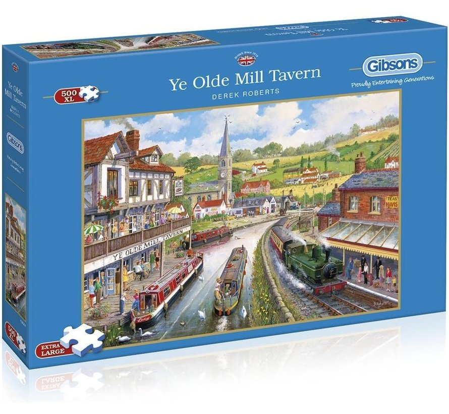 Ye Olde Mill Tavern Puzzle Pieces XL 500