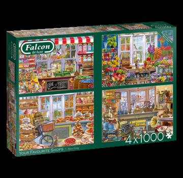 Falcon Your Favorite Shops Puzzle Pieces 4x 1000