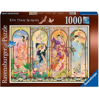 Ravensburger The Four Seasons Puzzle 1000 Pieces