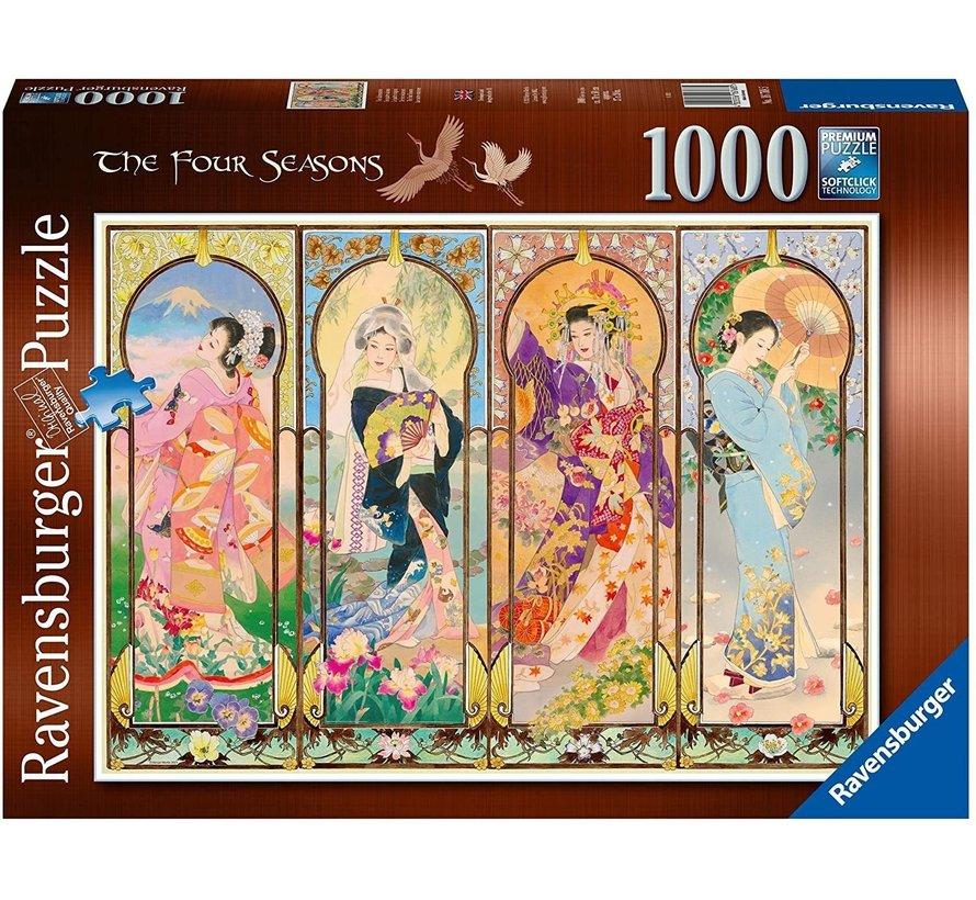 De Vier Seizoenen Puzzel 1000 Stukjes