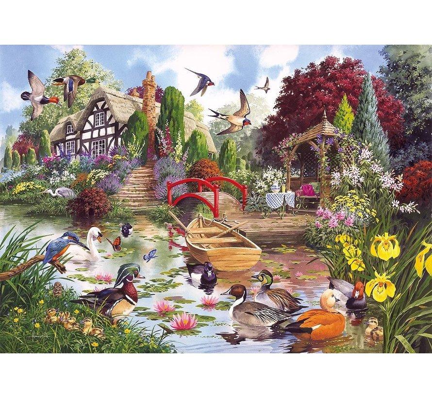 Flora & Fauna Puzzel 4x 500 Stukjes