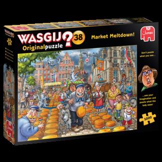 Jumbo Wasgij originale 38 Marché Meltdown Puzzle 1000 pièces