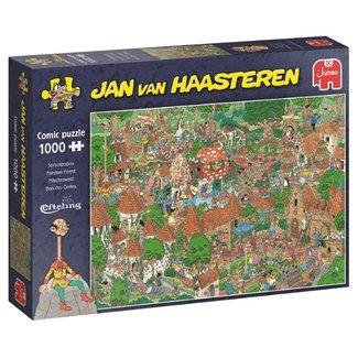 Jumbo Jan van Haasteren -  Sprookjesbos Efteling Puzzel 1000 Stukjes