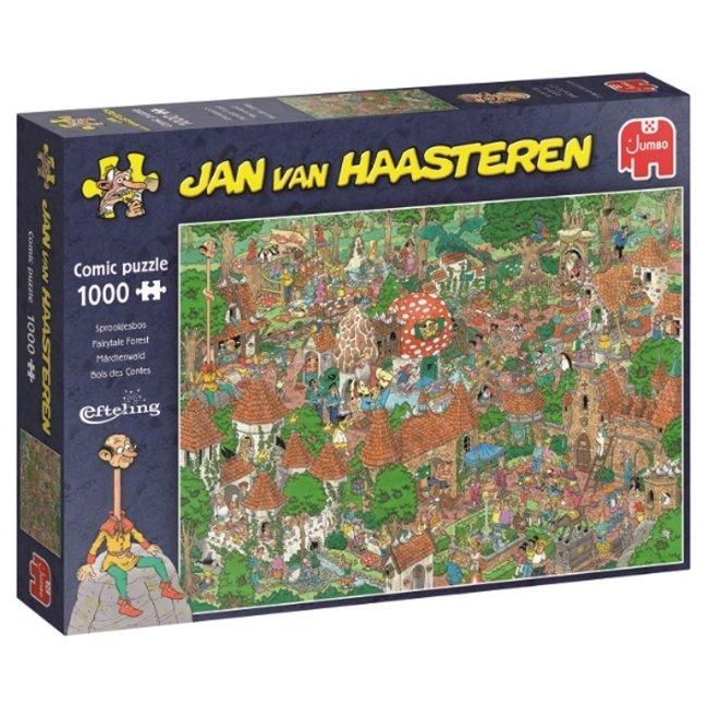Jan van Haasteren -  Sprookjesbos Efteling Puzzel 1000 Stukjes