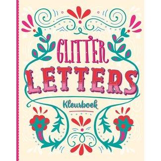 Inter-Stat Glitterkleurboek Letters