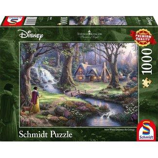 Schmidt Puzzle Puzzel Disney Sneeuwwitje 1000 Stukjes the Cottage