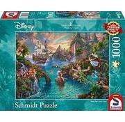 Schmidt Puzzle Puzzel Disney Peter Pan 1000 Stukjes