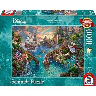 Schmidt Puzzle Disney Peter Pan Puzzle 1000 Stück