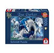 Schmidt Puzzle Lisa Parker Eenhoorns Puzzel 1000 Stukjes