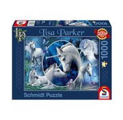 Schmidt Puzzle Lisa Parker Unicorns Puzzle 1000 Pieces