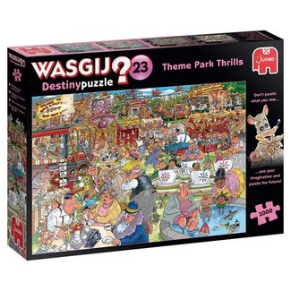 Jumbo Wasgij Destin 23 Spectacle dans le parc Puzzle 1000 pièces