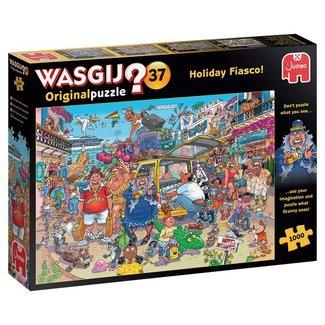 Jumbo Wasgij originale 37 vacances Fiasco pièces Puzzle 1000