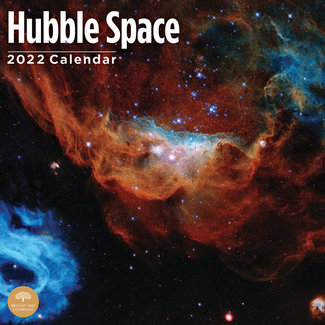 BrightDay Hubble Space Calendar 2022