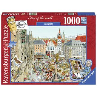 Ravensburger Munchen - Fleroux Puzzel 1000 Stukjes