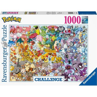 Ravensburger Pokémon Challenge Puzzel 1000 Stukjes