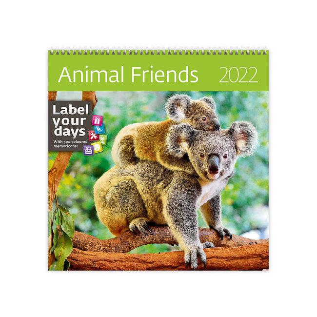 Helma Dieren Vrienden Kalender 2022