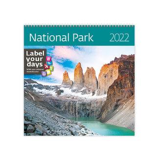 Helma National Parks Calendar 2022