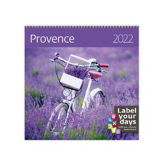 Helma Calendar 30 x 30 cm Provence