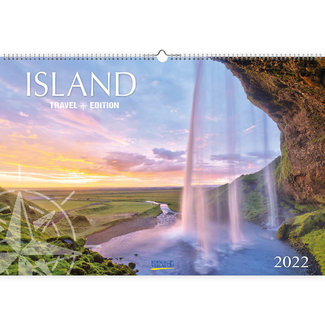 Korsch Verlag Iceland Calendar 2022