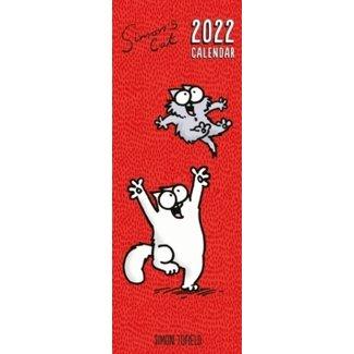 Simon's Cat Calendar 2022 Slimline