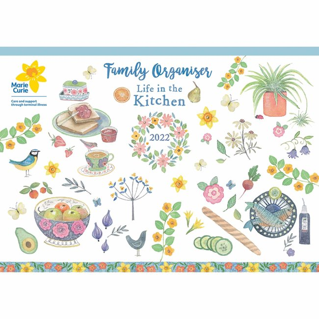 CarouselCalendars Life In The Kitchen A4 Planner 2022