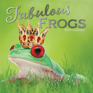 The Gifted Stationary Fabulous Frogs Kalender 2022