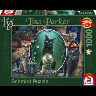 Schmidt Puzzle Lisa Parker Magische Katten Puzzel 1000 Stukjes