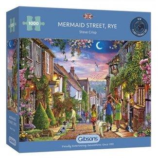 Gibsons Mermaid Street, Rye Puzzel 1000 Stukjes