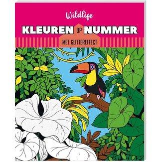 Inter-Stat Kleuren op nummer Kleurboek Wildlife