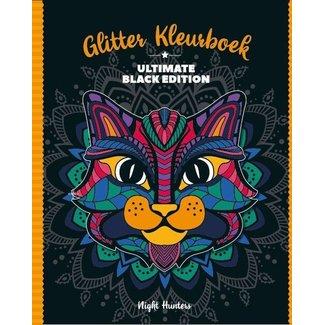 Inter-Stat Night Hunters glitter coloring book