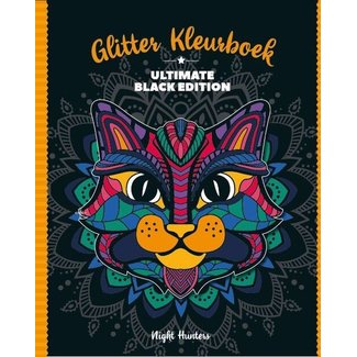Inter-Stat Night Hunters Glitter Kleurboek
