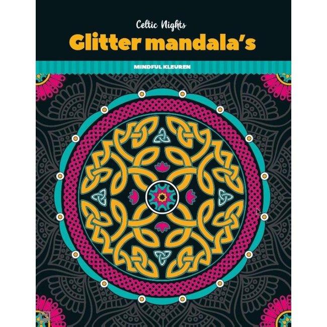 Glitterkleurboek Mandala - Celtic Nights
