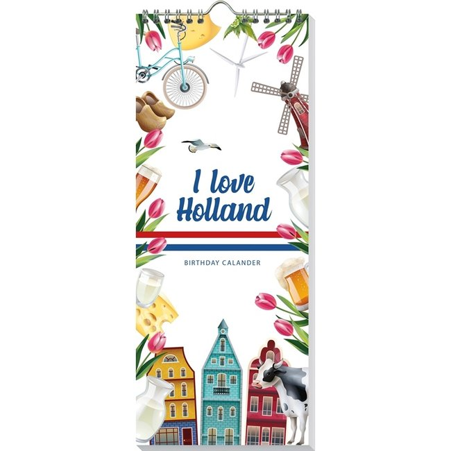 I Love Holland Verjaardagskalender