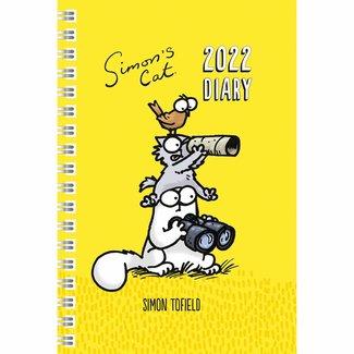 Portico Simon's Cat Agenda 2022 A5