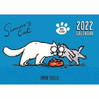 Simon's Cat Planner 2022 A4