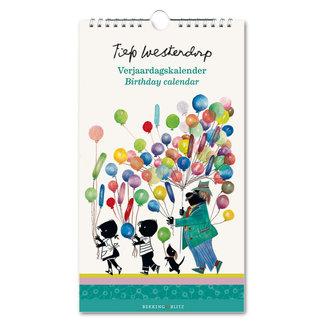 Bekking & Blitz Fiep Westendorp birthday calendar balloons