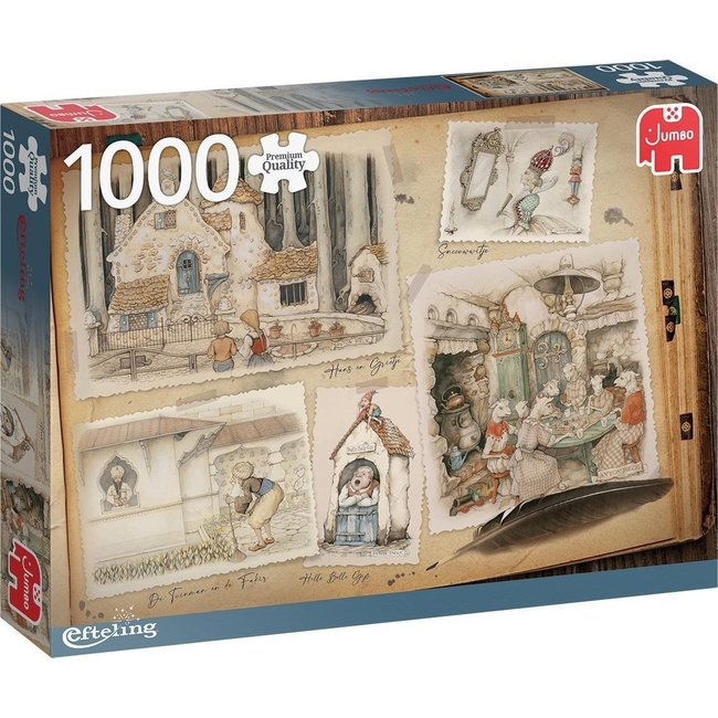 Anton Pieck Efteling Puzzel 1000 Stukjes