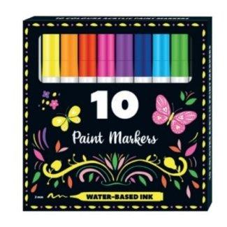 Inter-Stat Paint Markers 10 Stuks