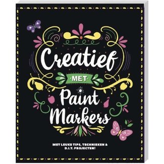 Inter-Stat Creative with paint markers book