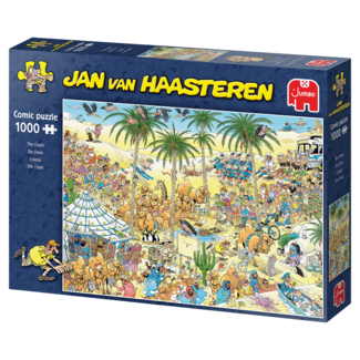 Jumbo Jan van Haasteren – De Oase Puzzel 1000 Stukjes