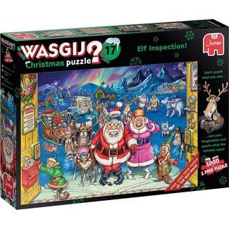 Jumbo Wasgij Christmas 17 - Elf Inspection Puzzel 2x 1000 stukjes