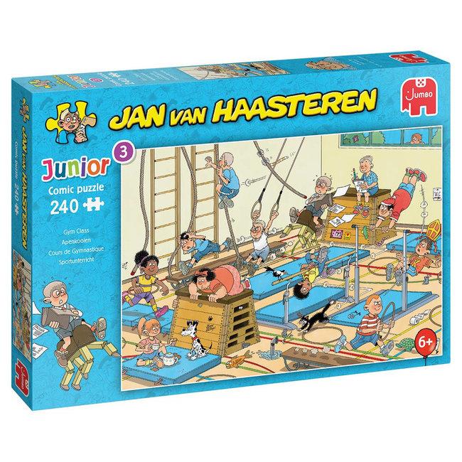 Apenkooien - Jan van Haasteren Junior Puzzel 240 Stukjes