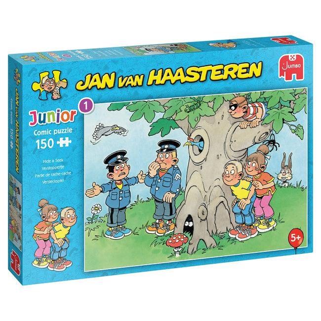 Jumbo Verstoppertje- Jan van Haasteren Junior Puzzel 150 Stukjes