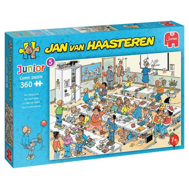 Het Klaslokaal- Jan van Haasteren Junior Puzzel 360 Stukjes