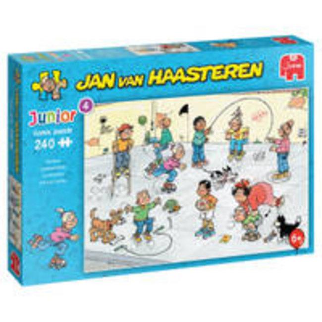 Jumbo Speelkwartiertje - Jan van Haasteren Junior Puzzel 240 Stukjes