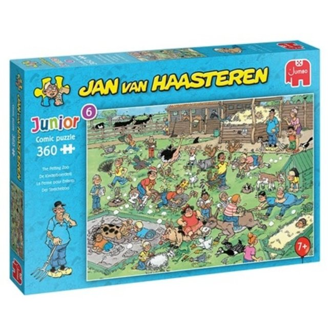 Jumbo The Children's Farm - Jan van Haasteren Junior Puzzle 360 pieces