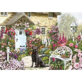 Otterhouse Cottage Garden Puzzel 500 XL Stukjes