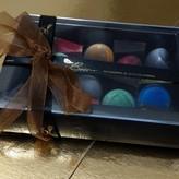 Patisserie & Chocolaterie Boom Bonbon Window Box Noir Mid