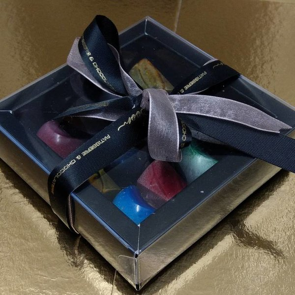 Patisserie & Chocolaterie Boom Bonbon Window Box Noir Petite