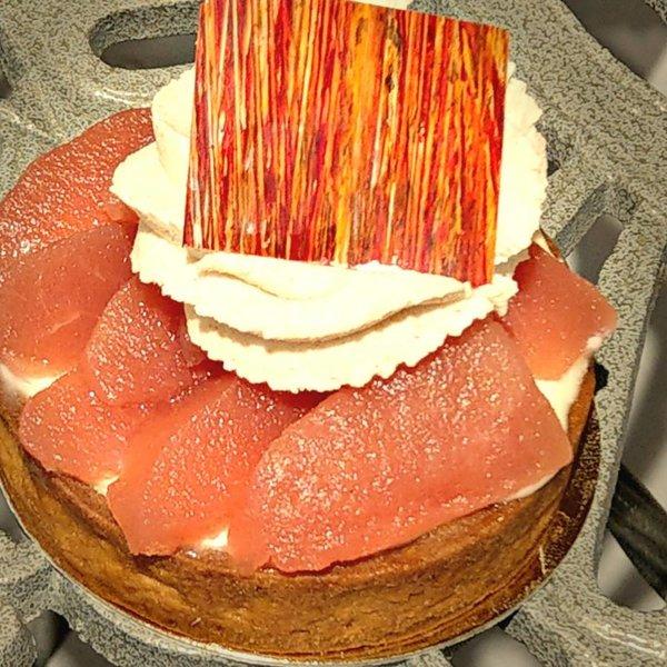 Patisserie & Chocolaterie Boom Stoofpeertjes Tartelette